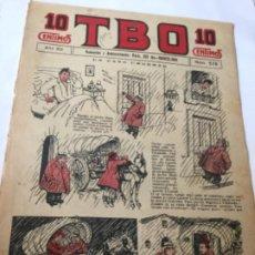 Tebeos: TBO- AÑO XII - 1928- 10 CTS.- NU.579. Lote 195905757