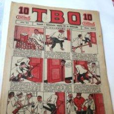 Tebeos: TBO- AÑO VII- 1923- 10 CTS.- NU.336. Lote 195906077