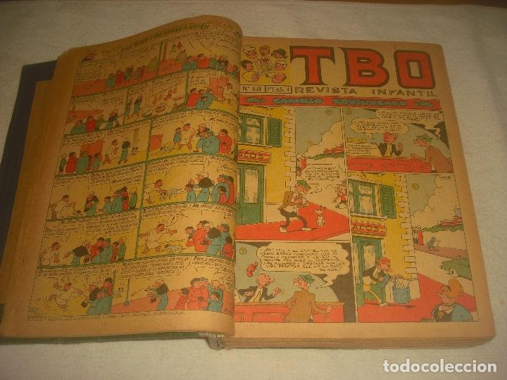 TBO ,51 EJEMPLARES ENCUADERNADOS DE LOS NUMEROS 532 AL 583. (Tebeos y Comics - Buigas - TBO)