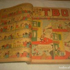 Tebeos: TBO ,51 EJEMPLARES ENCUADERNADOS DE LOS NUMEROS 532 AL 583.. Lote 196249577