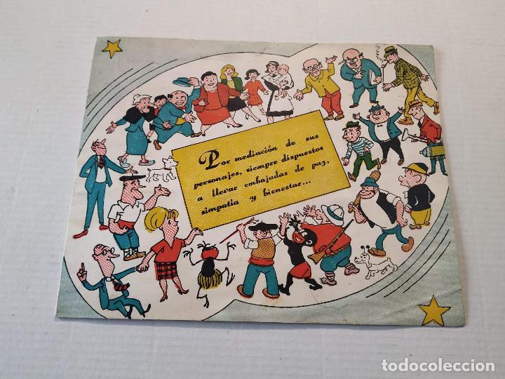 FELICITACIÓN NAVIDEÑA TBO PARA EL AÑO 1965 (Tebeos y Comics - Buigas - TBO)