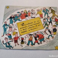 Tebeos: FELICITACIÓN NAVIDEÑA TBO PARA EL AÑO 1965. Lote 196630907