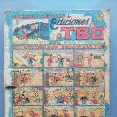 Tebeos: TBO - 2ª ETAPA ( 1941-1952 ) - PÁGINAS CÓMICAS DE ED. TBO (AÑOS 1948~1949) - SIN NUMERAR - PJRB. Lote 196736297