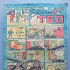 Tebeos: TBO - 2ª ETAPA ( 1941-1952 ) - CHISTES E HISTORIETAS CÓMICAS - (AÑOS 1948~1949) - SIN NUMERAR - PJRB. Lote 196737682