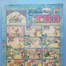Tebeos: TBO - 2ª ETAPA ( 1941-1952 ) - PÁGINAS ESCOGIDAS DE ED.TBO - (AÑOS 1948~1949) - SIN NUMERAR - PJRB. Lote 196738242