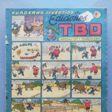 Tebeos: TBO - 2ª ETAPA ( 1941-1952 ) - CUADERNO DIVERTIDO DE ED.TBO - (AÑOS 1948~1949) - SIN NUMERAR - PJRB. Lote 196738718