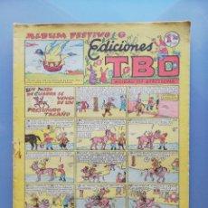 Tebeos: TBO - 2ª ETAPA ( 1941-1952 ) - ALBUM FESTIVO DE ED.TBO - (AÑOS 1948~1949) - SIN NUMERAR - PJRB. Lote 196739665