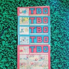 Tebeos: LOTE DE 5 TBO - SEGUNDA ÉPOCA, NÚMEROS: 65,66,75,78 Y 80 - PJRB. Lote 196943020