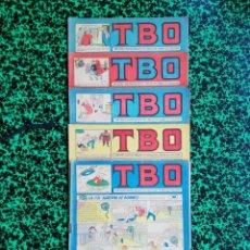 Tebeos: LOTE DE 5 TBO - SEGUNDA ÉPOCA, NÚMEROS: 90,91,93,95 Y 96 - PJRB. Lote 196943152