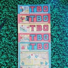 Tebeos: LOTE DE 5 TBO - SEGUNDA ÉPOCA, NÚMEROS: 96,98,100,101 Y 105 - PJRB. Lote 196943311