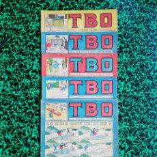 Tebeos: LOTE DE 5 TBO - SEGUNDA ÉPOCA, NÚMEROS: 114,117,122,126 Y 133 - PJRB. Lote 196943496