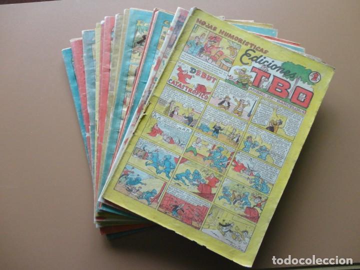 EDICIONES TBO- 21 TEBEOS SIN NUMERACIÓN (Tebeos y Comics - Buigas - TBO)