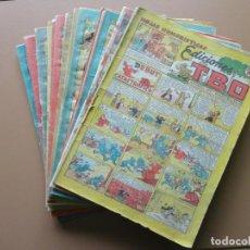 Tebeos: EDICIONES TBO- 21 TEBEOS SIN NUMERACIÓN. Lote 197343510