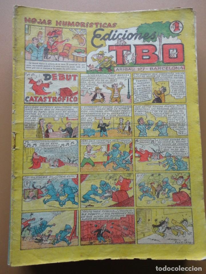 Tebeos: EDICIONES TBO- 21 tebeos sin numeración - Foto 2 - 197343510