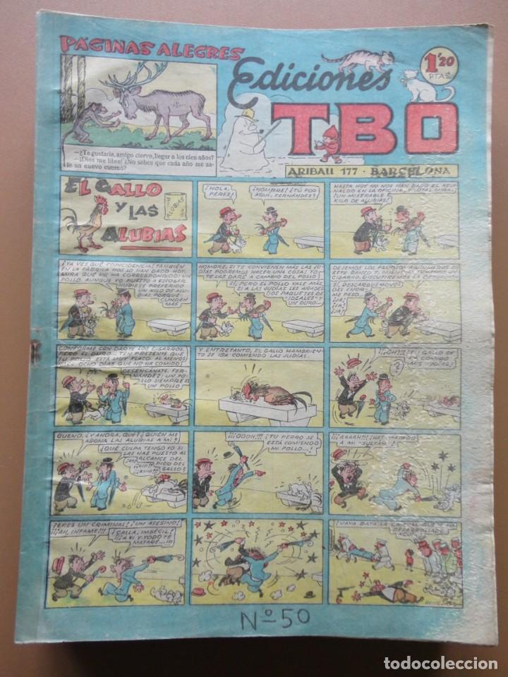 Tebeos: EDICIONES TBO- 21 tebeos sin numeración - Foto 3 - 197343510