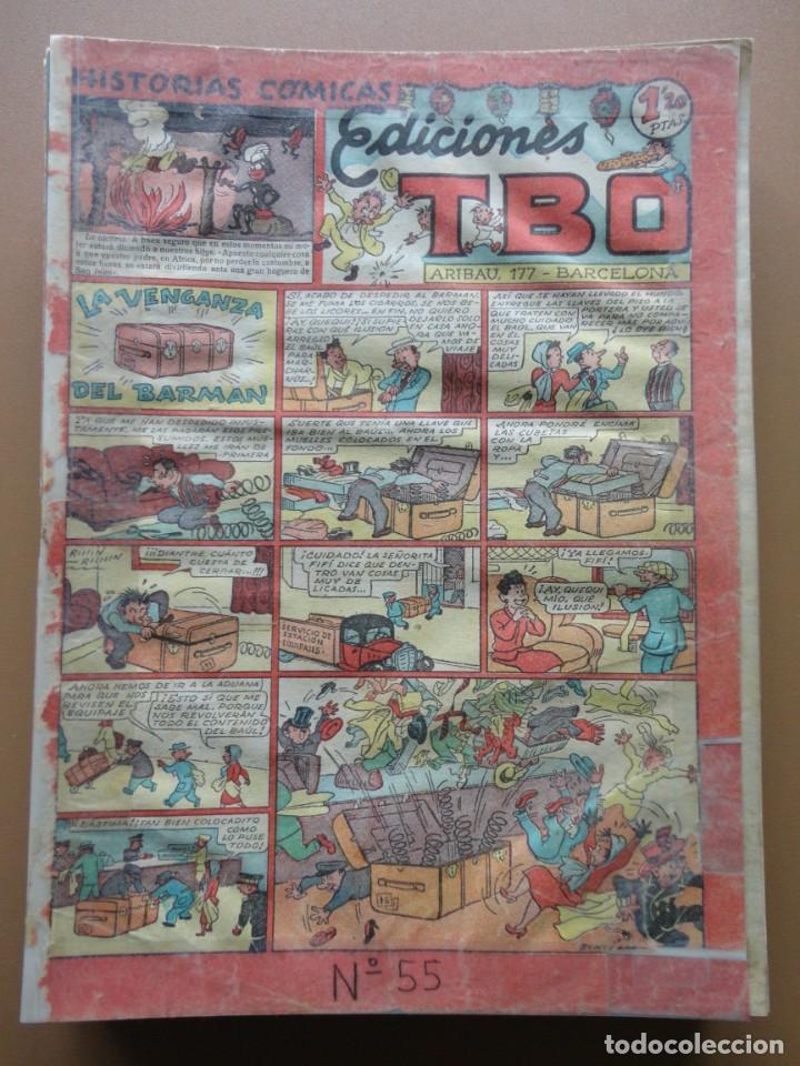 Tebeos: EDICIONES TBO- 21 tebeos sin numeración - Foto 4 - 197343510