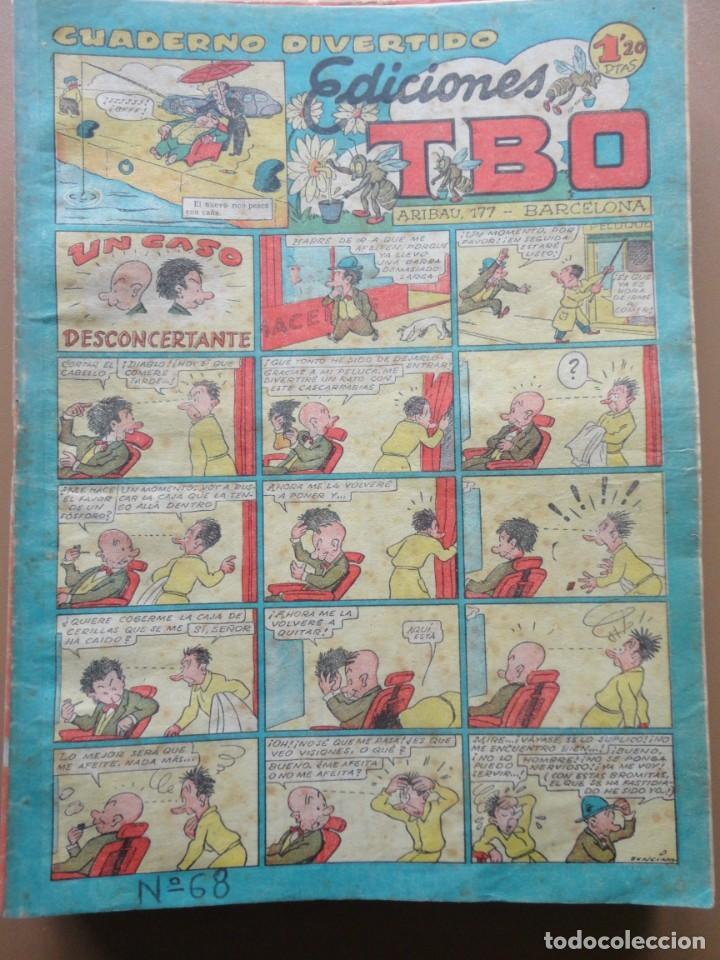 Tebeos: EDICIONES TBO- 21 tebeos sin numeración - Foto 5 - 197343510