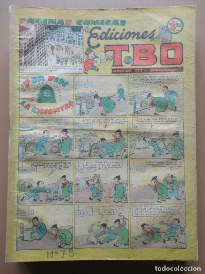 Tebeos: EDICIONES TBO- 21 tebeos sin numeración - Foto 9 - 197343510