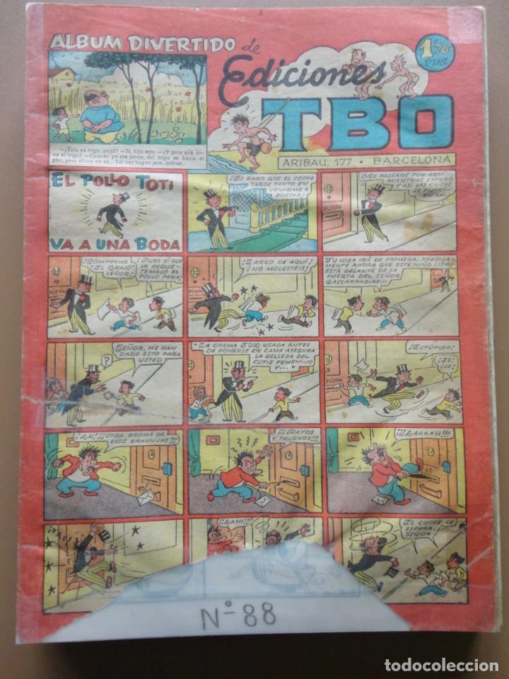 Tebeos: EDICIONES TBO- 21 tebeos sin numeración - Foto 11 - 197343510