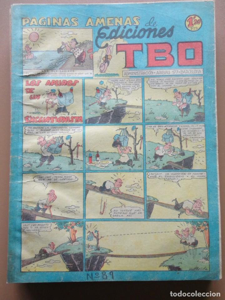Tebeos: EDICIONES TBO- 21 tebeos sin numeración - Foto 12 - 197343510