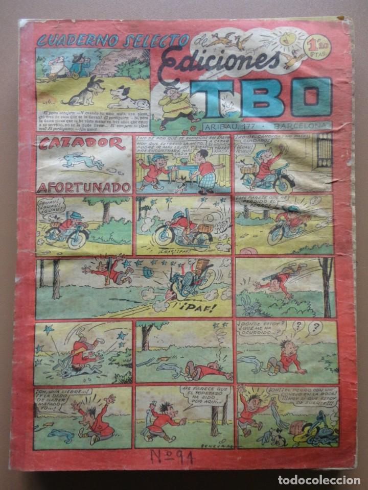 Tebeos: EDICIONES TBO- 21 tebeos sin numeración - Foto 13 - 197343510
