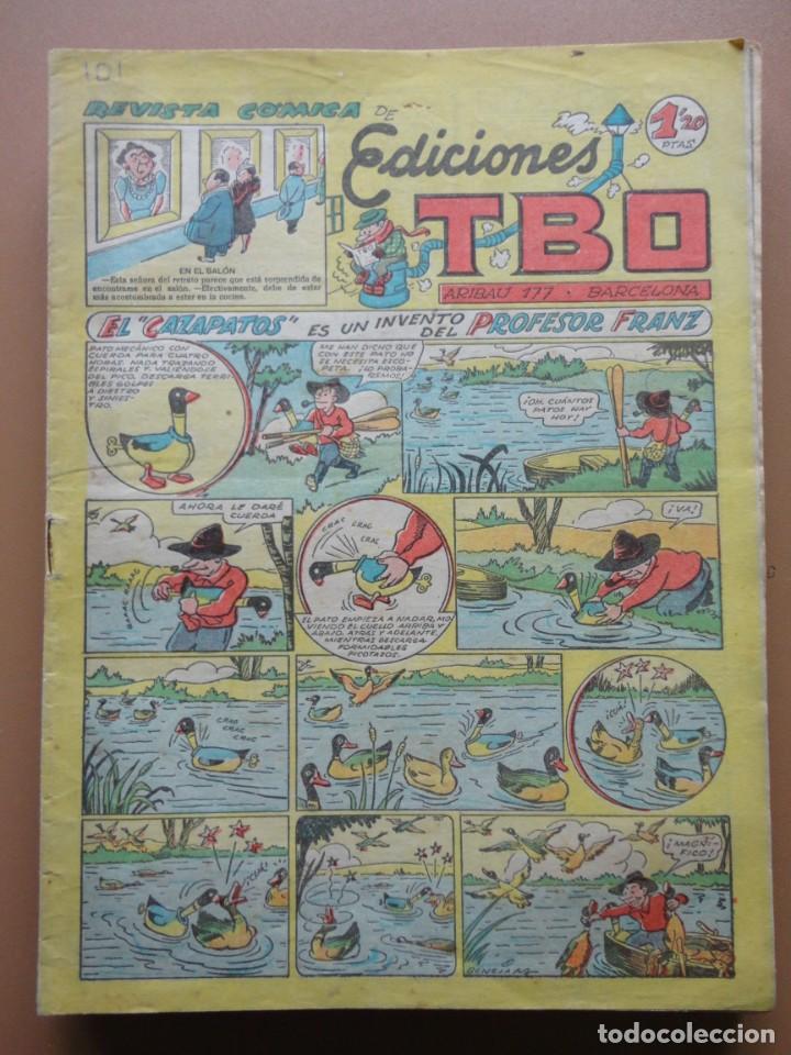 Tebeos: EDICIONES TBO- 21 tebeos sin numeración - Foto 14 - 197343510