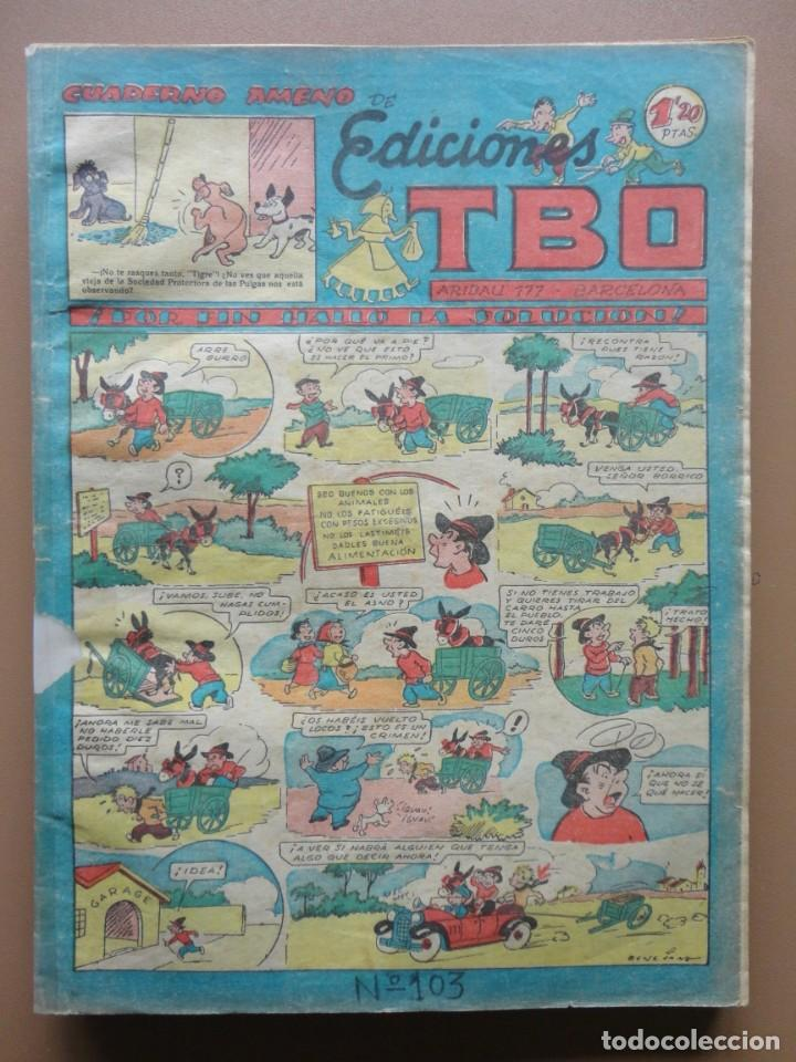 Tebeos: EDICIONES TBO- 21 tebeos sin numeración - Foto 15 - 197343510