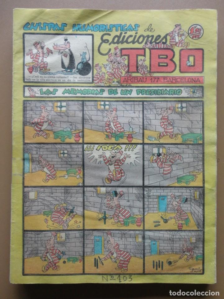 Tebeos: EDICIONES TBO- 21 tebeos sin numeración - Foto 16 - 197343510