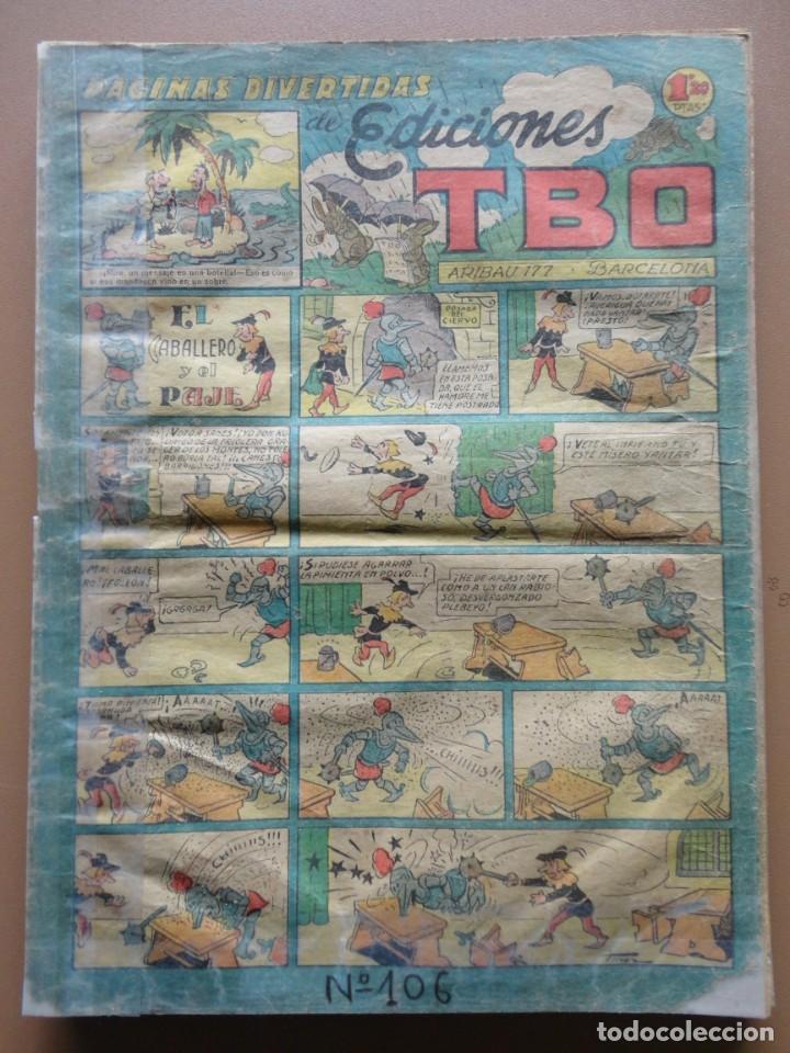 Tebeos: EDICIONES TBO- 21 tebeos sin numeración - Foto 17 - 197343510