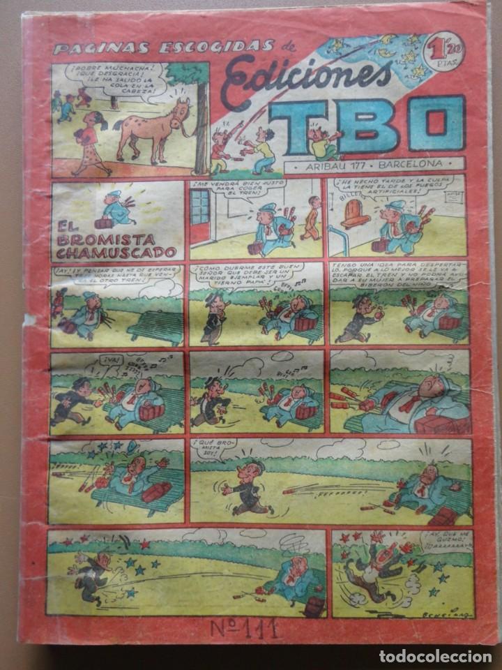 Tebeos: EDICIONES TBO- 21 tebeos sin numeración - Foto 19 - 197343510