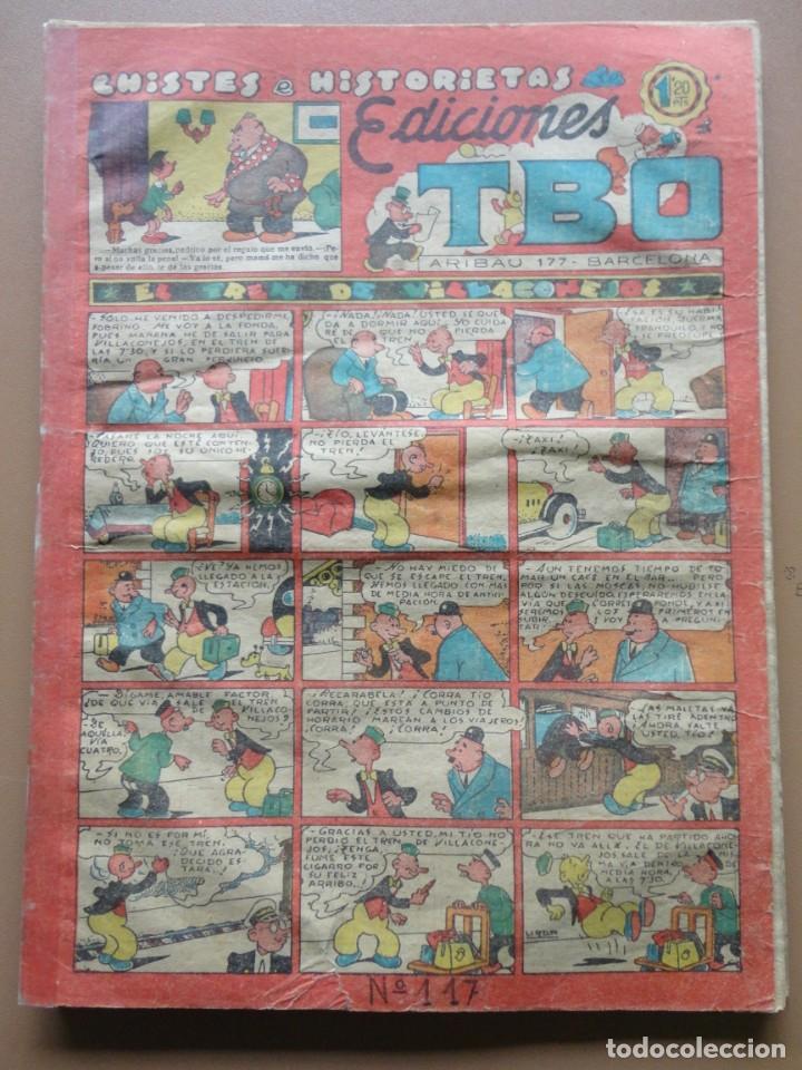 Tebeos: EDICIONES TBO- 21 tebeos sin numeración - Foto 20 - 197343510