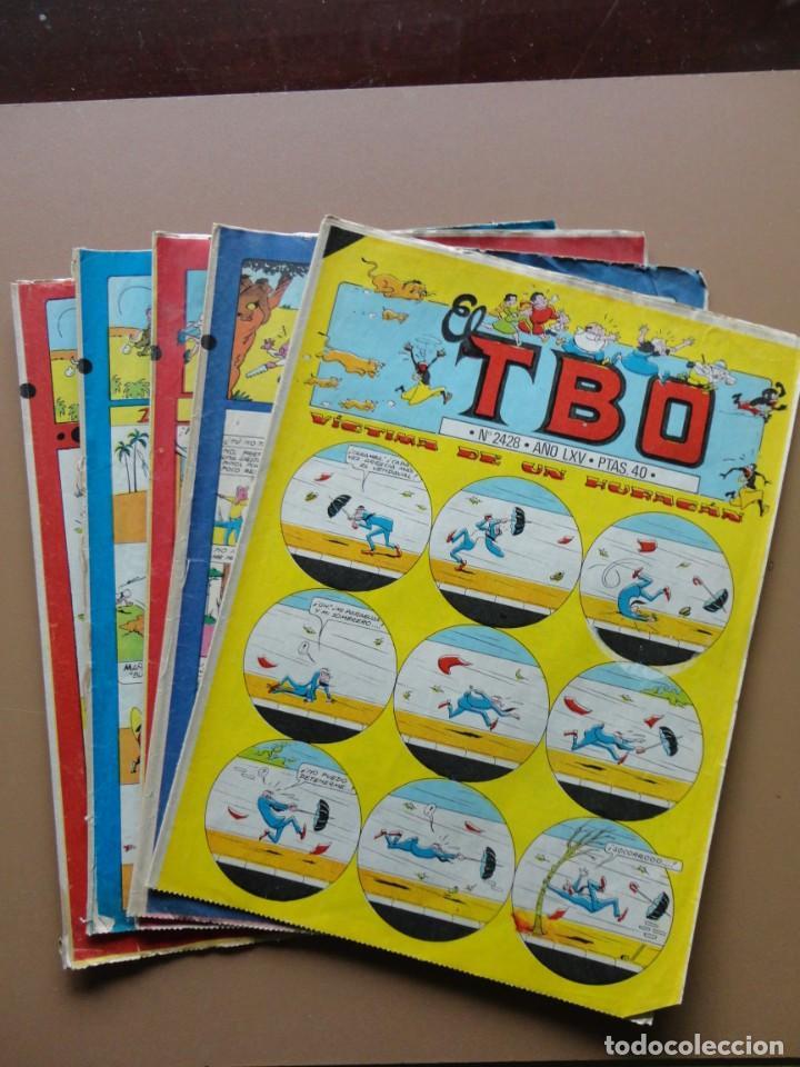 TBO- 5 TEBEOS (Tebeos y Comics - Buigas - TBO)