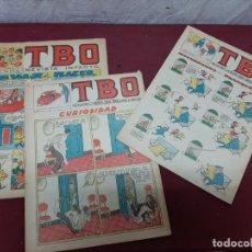 Tebeos: LOTE 3 COMIC TBO.. NUMEROS 289..292..Y 542. 1958. Lote 197453860