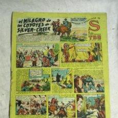 Tebeos: EL MILAGRO DE LOS COYOTES DE SILVER CREEK. Lote 198083802