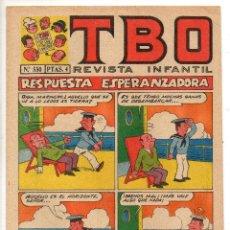Livros de Banda Desenhada: TBO Nº 550 (BUIGAS, ESTIVILL Y VIÑA 1968). Lote 198106278