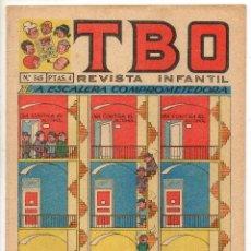 Livros de Banda Desenhada: TBO Nº 545 (BUIGAS, ESTIVILL Y VIÑA 1968). Lote 198106643