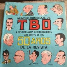 Tebeos: TBO (11 EJEMPLARES) HOMENAJES, ALMANAQUE.... Lote 198508727