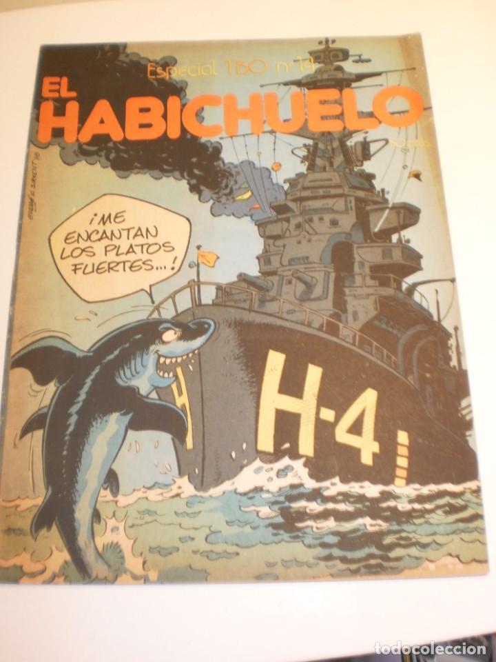 ESPECIAL TBO Nº 14 EL HABICHUELO. (BUEN ESTADO) (Tebeos y Comics - Buigas - Otros)