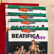 Tebeos: BEATIFICA BLUES. NUMEROS 3, 5, 8 Y 11. AÑOS 90. Lote 27513247