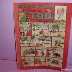 Tebeos: CUADERNO EXTRAORDINARIO - 2º ALBUM DE EDICIONES TBO DIBUJADO POR BENEJAM / BUIGAS - AÑOS 40. Lote 201188407