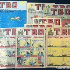 Tebeos: TBO / 9 EJEMPLARES DIFERENTES / 2ª EPOCA / 1965-1966 / SIN USAR /. Lote 201217322
