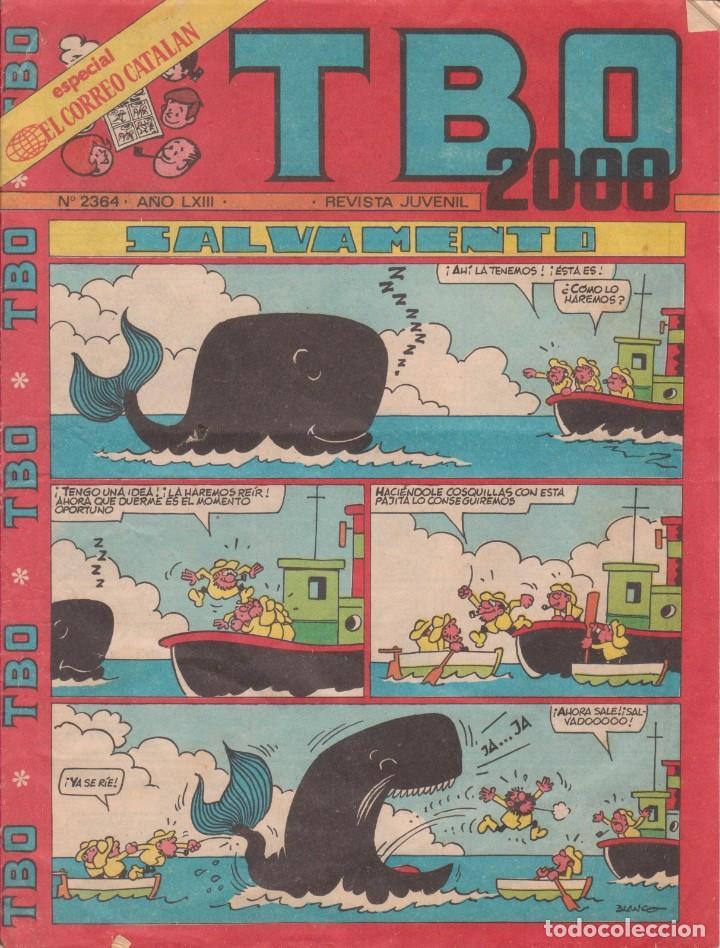 T B O 2000 Nº 2364 AÑO LXIII (Tebeos y Comics - Buigas - TBO)