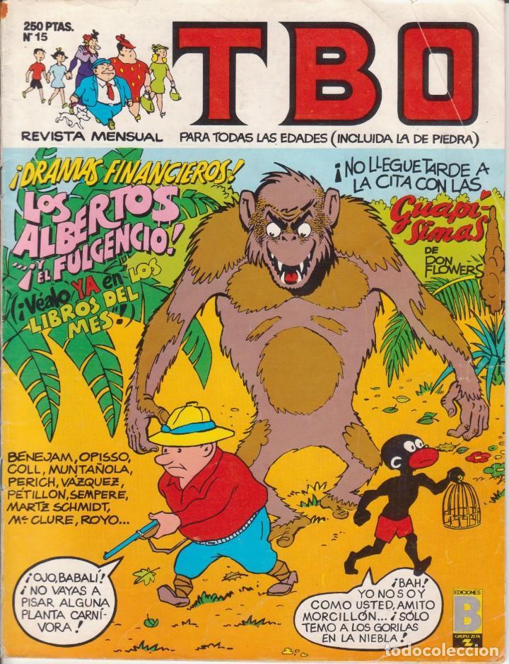 T B O Nº 15 EDICIONES B AÑO 1989 (Tebeos y Comics - Buigas - TBO)