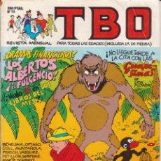 Tebeos: T B O Nº 15 EDICIONES B AÑO 1989 . Lote 201996381