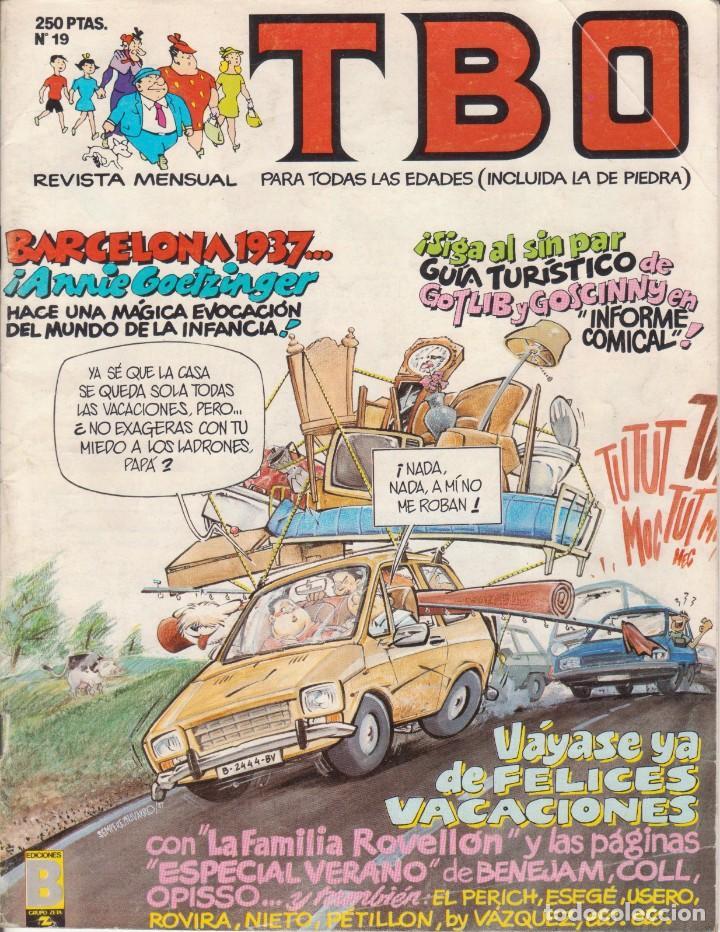 T B O Nº 19 EDICIONES B AÑO 1989 (Tebeos y Comics - Buigas - TBO)