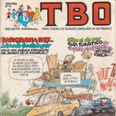 Tebeos: T B O Nº 19 EDICIONES B AÑO 1989 . Lote 201996806