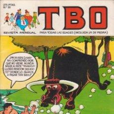 Tebeos: T B O Nº 30 EDICIONES B AÑO 1990 . Lote 201997433
