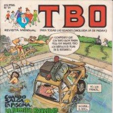 Tebeos: T B O Nº 31 EDICIONES B AÑO 1990 . Lote 201998208