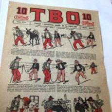 Tebeos: TBO .- Nº. 390 - AÑO VIII- AÑO 1924 - COMPLETAMENTE NUEVO - 10 CTS. Lote 204535983