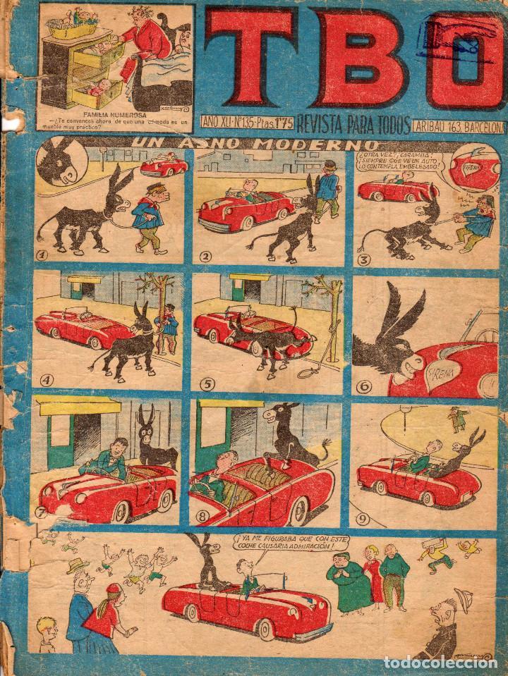 TBO. REVISTA PARA TODOS. NÚMERO 135 (Tebeos y Comics - Buigas - TBO)
